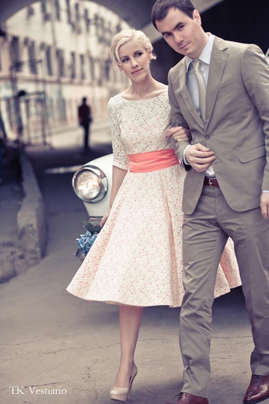 Купить Свадебные Платья В Стиле Ретро